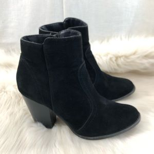 Breckelles Black Ankle Boots